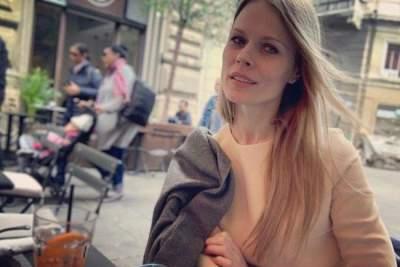 Ольга Фреймут пришла на школьный бал дочери в прозрачном платье