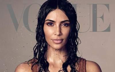 Ким Кардашьян снялась в соблазнительных образах для Vogue US