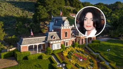 Бывшее поместье Майкла Джексона резко упало в цене