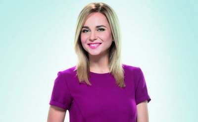 Украинская телеведущая впервые показала лицо дочки