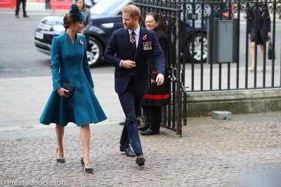 Неожиданно: Кейт Миддлтон вышла на публику с принцем Гарри