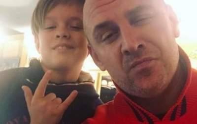 Потап показал редкий снимок с сыном