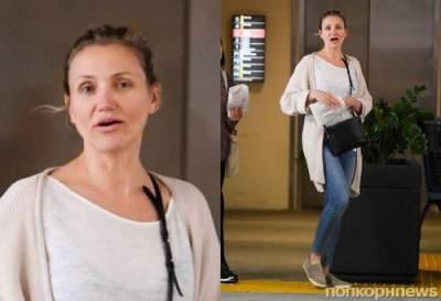 Фанаты в шоке: Камерон Диаз появилась на публике без макияжа