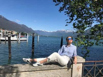 Катя Осадчая похвасталась снимками с отдыха в Швейцарии