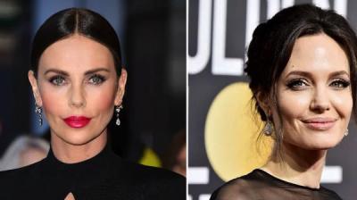 Шарлиз Терон прокомментировала слухи о вражде с Анджелиной Джоли