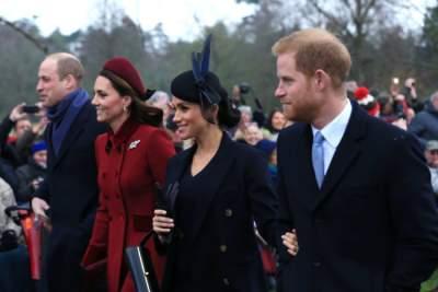 Герцоги Кембриджские и Сассекские запустили совместный проект