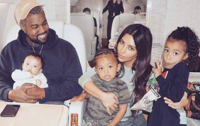 Ким Кардашьян стала мамой в четвертый раз