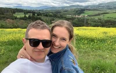 Катя Осадчая с мужем прогулялась по горам