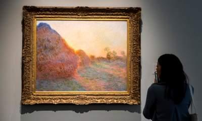 Картина Моне «Стога» ушла на аукционе за $110 млн