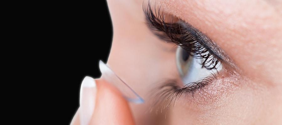 Контактные линзы для ваших глазок