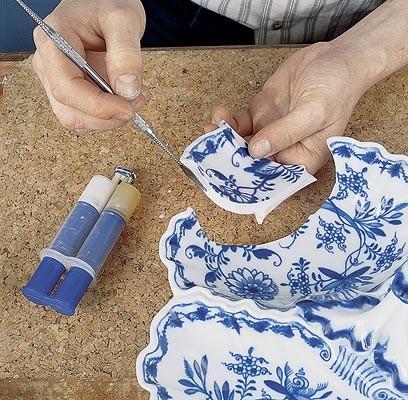 Ремонт и реставрация фарфора