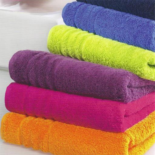 Махровые гладкокрашеные полотенца оптом от производителя