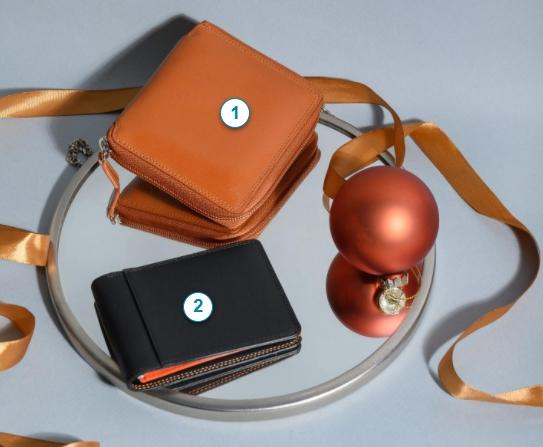 Женский кошелек с уникальным итальянским дизайном – прекрасный подарок к Новому году
