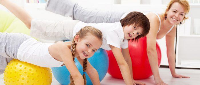 Фитнес и занятия для всей семьи