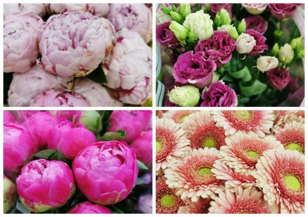 Свежие цветы оптом недорого в Москве и с доставкой по всей стране