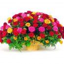 Заказать красивые розы в корзине