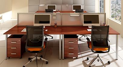 Купить офисные столы для персонала, руководителя или приемной